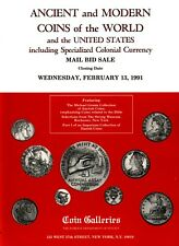 STACK'S COIN GALLERIES,ANCIENT,WORLD AND US COINS & COLONIAL CURRENCY,FEB.13,199
