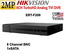 Hikvision 2MP 8CH Turbo HD DVR HD-TVI up to 1080p H.264 US Version