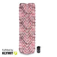 KLYMIT Static V Pink Camo Camping Sleeping Pad - CERTIFIED REFURBISHED