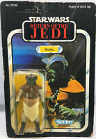 Vintage Star Wars KLAATU  MOC 65 TSUKUDA BACK  UNPUNCHED ROTJ