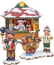 Hubrig 2018 Winterkinder Haus Weihnachtspostamt Geschenkekind Spielzeugverkäufer