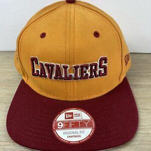 Cleveland Cavaliers NBA New Era 9FIFTY Snapback Strap Back Cap Hat Adult Yellow