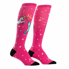Sock It To Me Unicorn Vs. Narwhal Womens Knee High Socks