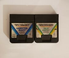 """""""Gangster Alley"""" and """"Tape Worm"""", two games for Atari 2600 (Two cart lot!)"""