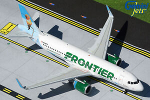Frontier Airbus A320neo N318FR Gemini Jets G2FFT897 Scale 1:200 IN STOCK