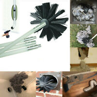 Dryer Duct Cleaning Kit Lint Remover Extends Up To 8 Feet Synthetic Brush Head