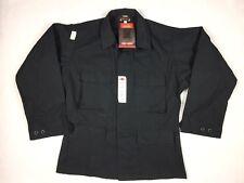 New Tru Spec 4 Pocket Black Long Sleeve Shirt Men's Size Medium