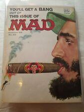 MAD MAGAZINE #82 OCTOBER 1963 FIDEL CASTRO