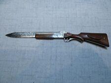 Shotgun Engraved Duck Hunter  Letter Opener