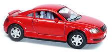 NEU: Audi TT Coupé Sammlermodell ca. 1:32 / 12,5cm rot Neuware von KINSMART