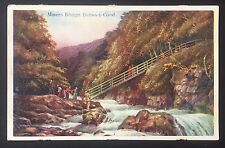 POSTCARD Miners Bridge BETWS Y COED Conwy Valley WALES Boots Chemist BETTWS 802