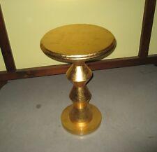 Tavolino Vintage dorato foglia oro