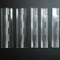 5 x 150mm DURCHSICHTIG Scharniere, Beschläge, Band, Gelenk, Angel