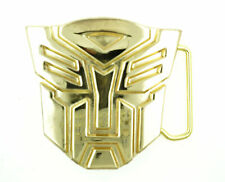 Autobot Transformers Gold-Plated Metal Belt Buckle