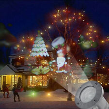Moving LED Laser Projector Light Santa Claus Outdoor Christmas Decoration Lamps