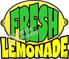 "Fresh Lemonade Decal 14"" Drinks Food Truck Restaurant Concession"