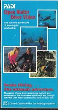 Padi Open Water Diver Video VHS Official VHS 2 Tapes 1991