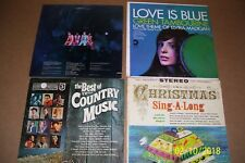 Lot of 5 Vintage Pre-Owned sleeves/jackets for vinyl lp albums .. no albums