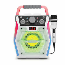 Singing Machine Glow Sml2200 Bluetooth Cdg Karaoke Machine Multi-Colored Lights