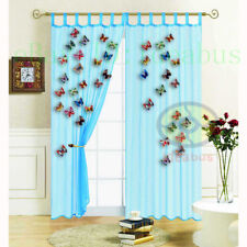 10PCS MIXED BUTTERFLY with Pin/Clips Homedecor Curtain Cloth Wingspan 8cm=3.15""