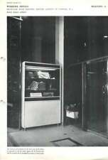 1953 Showcase With Heater: Travel Agency In London, W.1. Dennis Lennon