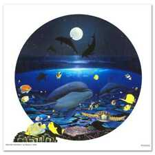 """MOONLIGHT CELEBRATION"" ROBERT WYLAND, LTD ED GICLEE ON CANVAS, S/N, W/ COA"
