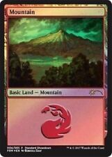 Magic The Gathering: MOUNTAIN PROMO FOIL Rebecca Guay Land - BUY A BOX Standard