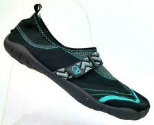 4b8d57d60e50 Op Water Sport Black Teal Neoprene Water Shoes Women s Size L (9-10