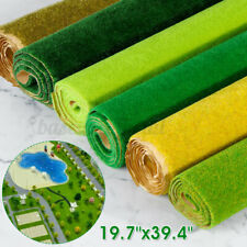50x100cm Grass Mat Artificial Lawn Carpet Architectural Layout Sand Table Tool