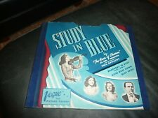 """Vogue Picture Record Album - Complete """"Study in Blue""""  (Later Version)"""
