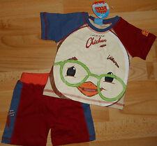 T-shirt + kurze Hose Disney Chicken little in Gr 74