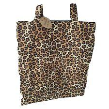 Shoulder TOTE BAG leopard print