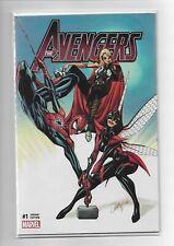 The Avengers #1 J Scott Campbell Variant Marvel Comics