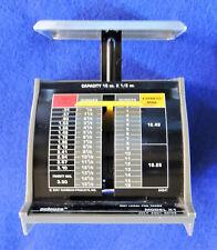 Pelouze Scale Company Model X1 July 2001 Postage Rates 16 Ounce Capacity Vintage
