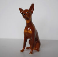 PORCELAIN Figurine DOG TOY.RARE.UNIQUE.Simply perfect.Hand Painted