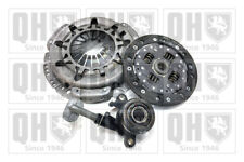 Clutch Kit 3pc (Cover+Plate+CSC) fits NISSAN MICRA K12 1.2 03 to 10 180mm QH New