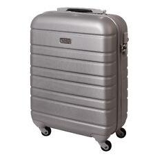 Handgepäck Hartschalen Reise Koffer Trolley Bordgepäck 30 Liter  Silber 815 B