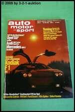 AMS Auto Motor Sport 11/87 * Kodiak  BMW Alpina B7 Turbo BMW M5 Opel Omega 3000
