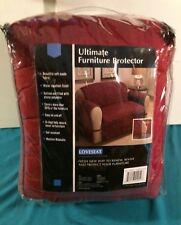 Ultimate Furniture Protector Loveseat Burgundy 132 x 98.5 Slipcover