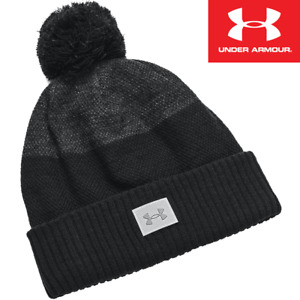 UNDER ARMOUR COLDGEAR INFRARED CGI BOBBLE / THERMAL WINTER GOLF HAT / 2021 MODEL