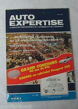Auto expertise 1988 n°132 Citroen AX 5 portes essence
