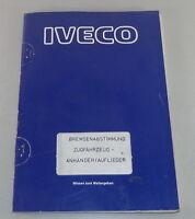 Schulungsunterlage Iveco Bremsenabstimmung Tractor - Pendant/Trailer