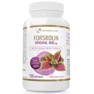 Forskolin Premium Plus 400mg 120-360kaps Entgiftung, Abnehmen Coleus Forskohlii