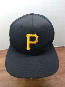 PITTSBURGH PIRATES BLACK VINTAGE Baseball Team MLB Hat SNAPBACK Cap