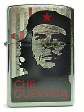 Zippo Che Guevara chrom gebürstet  Feuerzeug Neu 60000352 Motiv 1