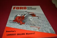 Ford Tractor 501 Rear Mounted Mowers Dealers Brochure AMIL15 ver2