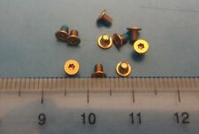 10pcs bottom cover screw Dell XPS 9343 9350 9360 9550 9560 M5510 9370: Rose Gold