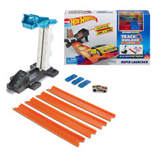 New Hot Wheels Track Builder System Rapid Launcher Playset & Car Official