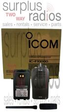 New Icom F1000d 01 Idas Digital Vhf 5 Watt 16 Channel 136 174 Mhz Radio Security