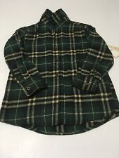 Boys Jachs Manufacturing Co. Plaid Flannel Shirt size 10
